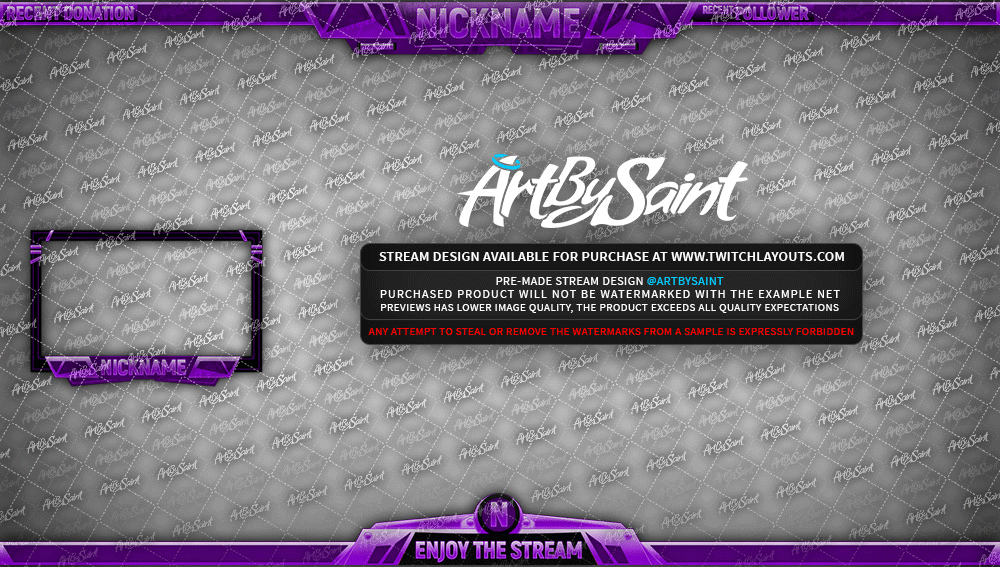 Twitch Layouts, Livestream Layouts, Twitch Designs, Graphic